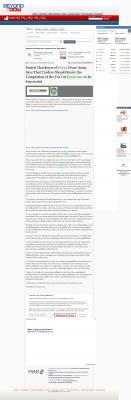 Dmitri Chavkerov  Beyond The Dow  news story on long term trading success