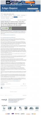 Dmitri Chavkerov  Columbus Ledger-Enquirer (Columbus, GA)  news story on long term trading success