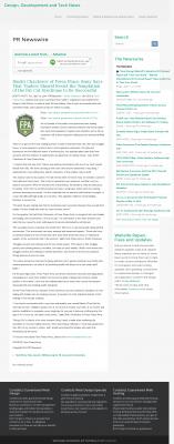 Dmitri Chavkerov  Cooldotz  news story on long term trading success