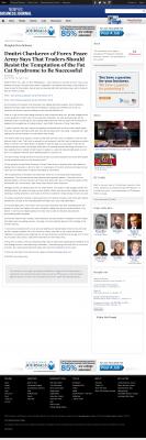 Dmitri Chavkerov  Memphis Business Journal  news story on long term trading success