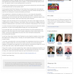 Dmitri Chavkerov New Mexico Business Weekly news story on long term trading success