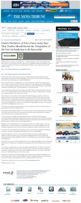 Dmitri Chavkerov  News Tribune (Tacoma, WA)  news story on long term trading success