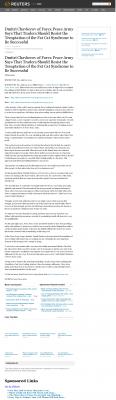 Dmitri Chavkerov  Reuters  news story on long term trading success