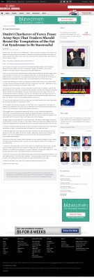 Dmitri Chavkerov  St. Louis Business Journal  news story on long term trading success