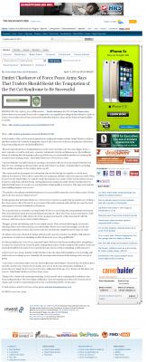 Dmitri Chavkerov  The Sacramento Bee  news story on long term trading success