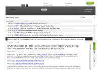 Dmitri Chavkerov  AlipesNews  news story on long term trading success