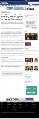 Dmitri Chavkerov  Birmingham Business Journal  news story on long term trading success