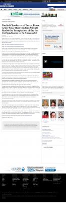 Dmitri Chavkerov  Cincinnati Business Courier  news story on long term trading success