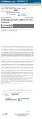 Dmitri Chavkerov  Daily Breeze (Torrance, CA)  news story on long term trading success