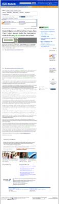 Dmitri Chavkerov  Inland Valley Daily Bulletin (Ontario, CA)  news story on long term trading success