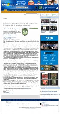 Dmitri Chavkerov  KING-TV NBC-5 (Seattle, WA)  news story on long term trading success
