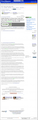 Dmitri Chavkerov  Long Beach Press-Telegram (Long Beach, CA)  news story on long term trading success