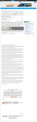 Dmitri Chavkerov  Oklahoman (Oklahoma City, OK)  news story on long term trading success