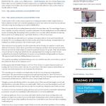 Dmitri Chavkerov Olympian (Olympia, WA) news story on long term trading success