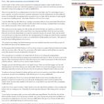Dmitri Chavkerov Telegraph-Macon (Macon, GA) news story on long term trading success