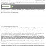 Dmitri Chavkerov The Daily Herald news story on long term trading success